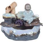 Mini-Fontaine D Intérieur Moine Bouddhiste 27 Cm