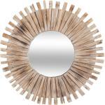 Miroir Manon , bois flotté D88 cm
