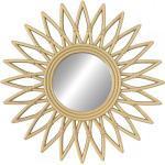 Miroir Round Soleil De Mur