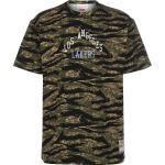 Vêtements Mitchell and Ness verts à motif tigres Lakers à manches courtes à col rond look fashion pour homme