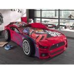 Mobistoxx Lit voiture PANTHER 90x200 cm rouge