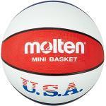 Ballons de basketball Molten rouges
