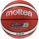 Molten BGR6-RW Ballon de Basket Taille 6 Orange/Blanc
