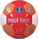 Molten H1C3500-RO Ballon de Handball pour Enfant Rouge 1