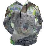 Vêtements à motif koalas à capuche pour homme