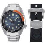 Montre Seiko Prospex Diver's Edition Limitée automatique cadran bleu bracelet acier 44 mm Homme