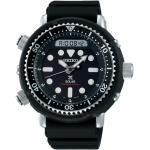 Montre Seiko Prospex Diver's quartz solaire cadran noir bracelet silicone noir 47,8 mm Homme