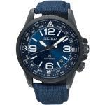 Montre Seiko Prospex Terre automatique cadran bleu bracelet NATO bleu 42 mm Homme