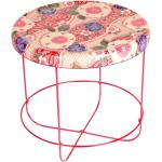 Moroso Table d'appoint ronde Ukiyo sakura structure rouge rubis RAL3003