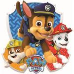 Nickelodeon sticker mural Paw Patrol Patrol Chase 1 feuille d'autocollants