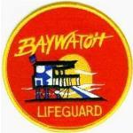 nobrand Ecusson Alerte à Malibu comme vu sur les maillots des sauveteurs