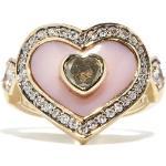 Noor Fares - Bague en or 18 carats, opale et diamants Anahata
