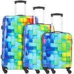 Nowi Palma de Mallorca Set de valise 4 roulettes bunt (34400-bunt)
