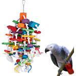 Oiseaux Bloc Jouets Avec Bells Pour Moyennes Perroquets Et Pour Amazon Afrique Dans Le Magasin Tapomeis