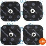 Pack 10 Compex 4 Électrodes EasySnap Performance 5x5cm