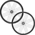 Paire de roues de route Campagnolo Shamal (carbone, 2-Way Fit, à disque) - Dark Label - Shimano, Dark Label