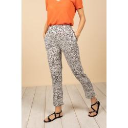 Pantalons Deeluxe à effet léopard pour femme