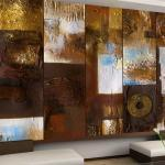 papier peint - abstract: winter landscape - artgeist - 50x1000