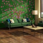 Papiers peints intissés Jardindeco verts