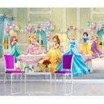 Papier peint Anniversaire Princesse Disney 360X255 CM