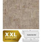 Papier peint aspect crépi EDEM 9093-16 papier peint gaufré à chaud avec dos intissé gaufré au style shabby chic brillant beige brun argent 10,65 m2