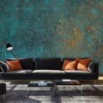 Papier peint - Azure Mirror - Décoration, image, art | Fonds et Dessins | Pierre |