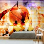 Papier peint - Basketball - 150x105 - Hobby - Sport -