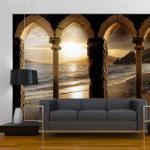 Papier peint - Castle on the beach - Décoration, image, art -