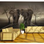 Papier peint - City of elephants - Décoration, image, art -