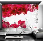 Papiers peints intissés Jardindeco rouges