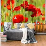 Papiers peints intissés Jardindeco à motif fleurs