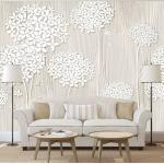 Papier peint - Creamy Daintiness - Décoration, image, art -