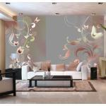 Papier peint - Creamy passion - Décoration, image, art   Fonds et Dessins   Motifs floraux  