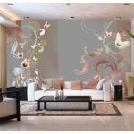 Papier peint - Creamy passion - Décoration, image, art | Fonds et Dessins | Motifs floraux |
