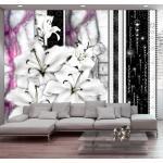 Papiers peints intissés Jardindeco violets