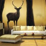 Papier peint - Deer in his natural habitat - 450x270 - -