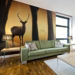 Papier peint - Deer in his natural habitat - Décoration, image,