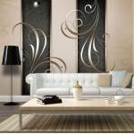 Papier peint - Duo romantique - Décoration, image, art   Fonds et Dessins   Ornements  