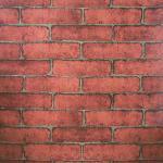 Papier peint en PVC 3D motif brique de pierre chinoise rustique vintage en relief lavable pour le salon 100 x 45 cm