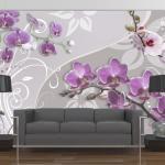 Papiers peints Bimago violets