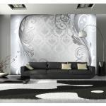 Papier peint - Gray ornament - Décoration, image, art -