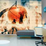 Papier peint - I love basketball - Décoration, image, art -