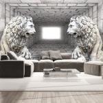 Papiers peints Bimago à motif lions