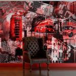 Papier peint - Londres, Londres... - 250x193 - Ville et