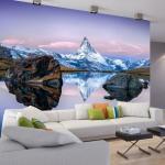 Papier peint - Lonely Mountain - Décoration, image, art -