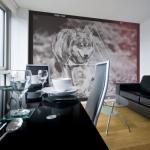 Papiers peints Bimago à motif loups