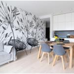 Papiers peints gris éco-responsable
