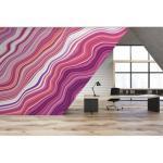 Papier peint Panoramique illusion PINK MARBLING