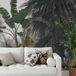 Papier peint panoramique jungle paysage Misty Forest 255x260cm