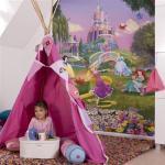 Papier peint Princesse Disney Sunset 184X254 CM